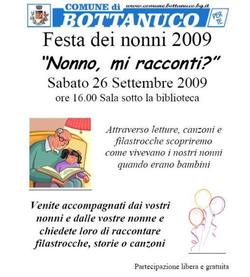 Festa dei nonni 2009